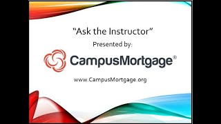 Free Mortgage Training - If the Borrower has an outstanding debt that was assigned to another.....