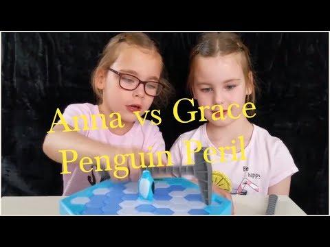 Anna vs Grace in penguin peril