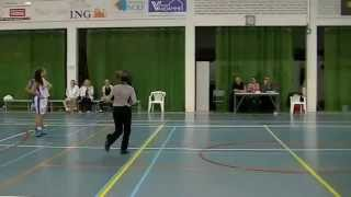 Basketball X-Mas Tournament Kortrijk Blue Cats Yres - Dozy BV Den Helder U19  27-12-14