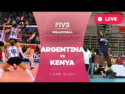 Argentina v Kenya - Group 2: 2016 FIVB Volleyball World Grand Prix
