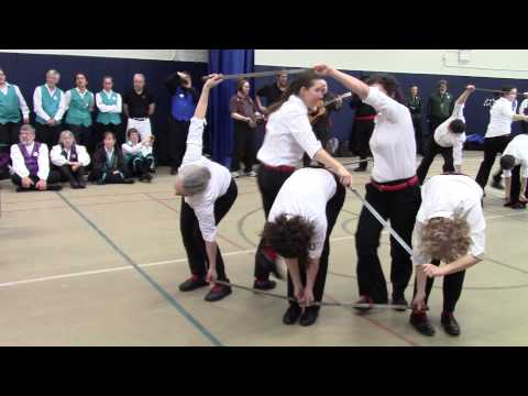 Brooklyn Friends School   Half Moon Sword   Bampton Weaver's Dance
