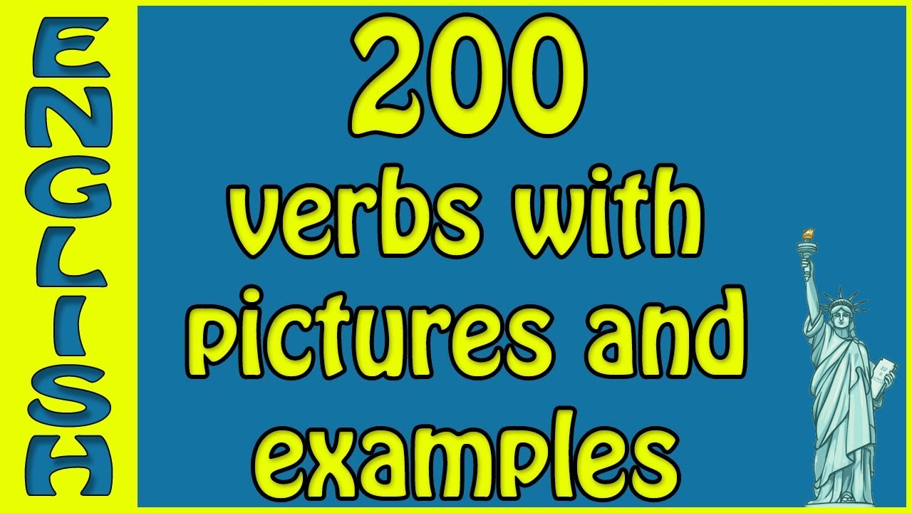 100 English verbs with examples and pictures 📷 101 to 200 - sentences -  100 English verbs - Cambly