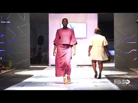 Afre Anko (Ghana) @ Accra Fashion Week Chilly Rainy 2018