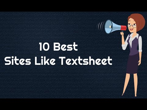 10 Best Sites like Textsheet {Textsheet Alternatives}