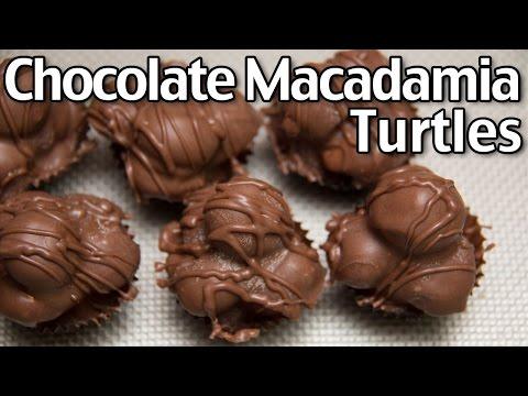 How To Make Chocolate Macadamia Turtles