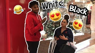 WHICH DO GUYS & GIRLS PREFER ? WHITE OR BLACK | PUBLIC INTERVIEW (MALL EDITION)