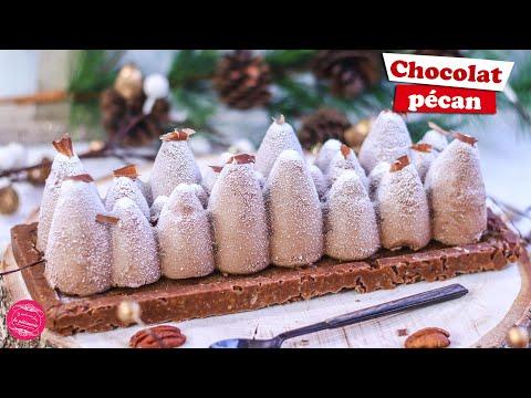 🎄-buche-de-noel-chocolat-noix-de-pecan-🎄