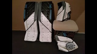 Warrior G4 Pro set:  On ice review