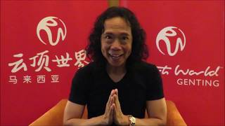 Joey Tang of Hong Kong Band Interview in Genting