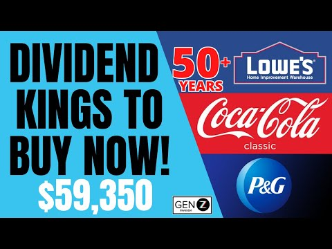 Best Dividend KINGS To BUY NOW! Dividend Growth Stocks TO ...