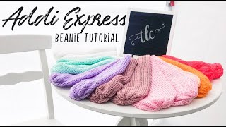Addi Express Bon Fire Beanie Tutorial