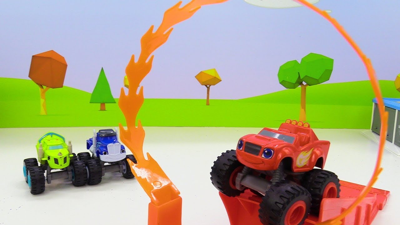 Вспыш и чудо-машинки — Машинки для мальчиков и огненное ...