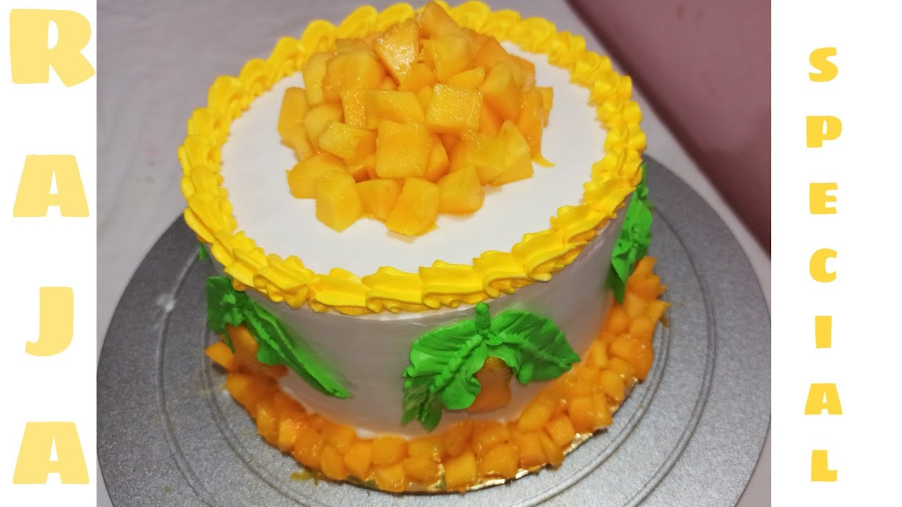 Mango cake, raja special