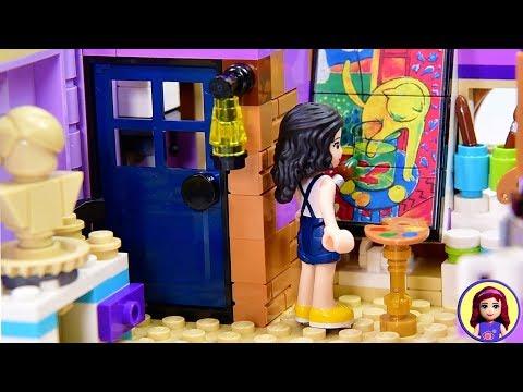 Building Emma an Artist's Loft - Custom Renovation from Lego Friends Art Studio