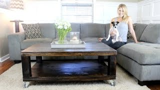 The Rustic Coffee Table - DIY Project