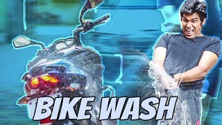 This is How I Made 1 Million Dollar Bike Wash Setup! **at my home** | Vlog 2