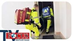 Mit Blaulicht ins Krankenhaus: Frau in Badezimmer gestürzt | Focus TV Reportage