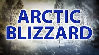 ARCTIC BLIZZARD | Storm White Noise For Relaxation & Sleep | 10 Hours
