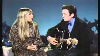 Johnny Cash and Joni Mitchell - The Long Black Veil (The Johnny Cash Show - July 19, 1969)