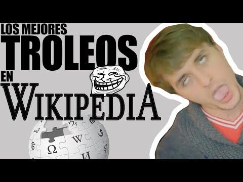 Los mejores TROLEOS en Wikipedia!