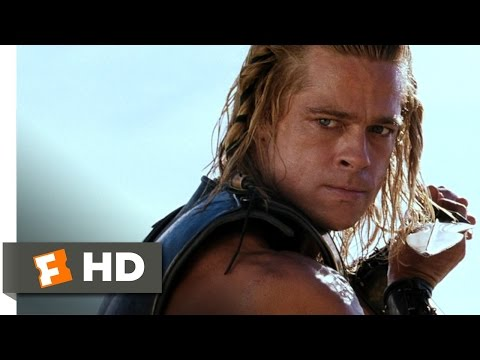 Troy (5/5) Movie CLIP - Achilles' Revenge (2004) HD streaming vf