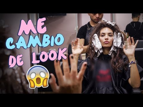 ME CAMBIO DE LOOK 😱 !!  (Balayague Super Natural)