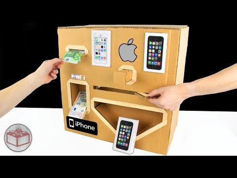 Thumbnail: How To Make Apple iPhone Vending Machine From Cardboard