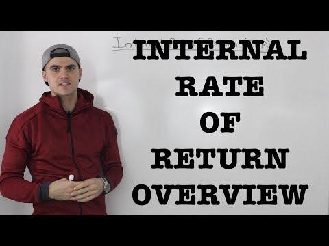 FIN 300 - Internal Rate of Return (IRR) Overview - Ryerson University