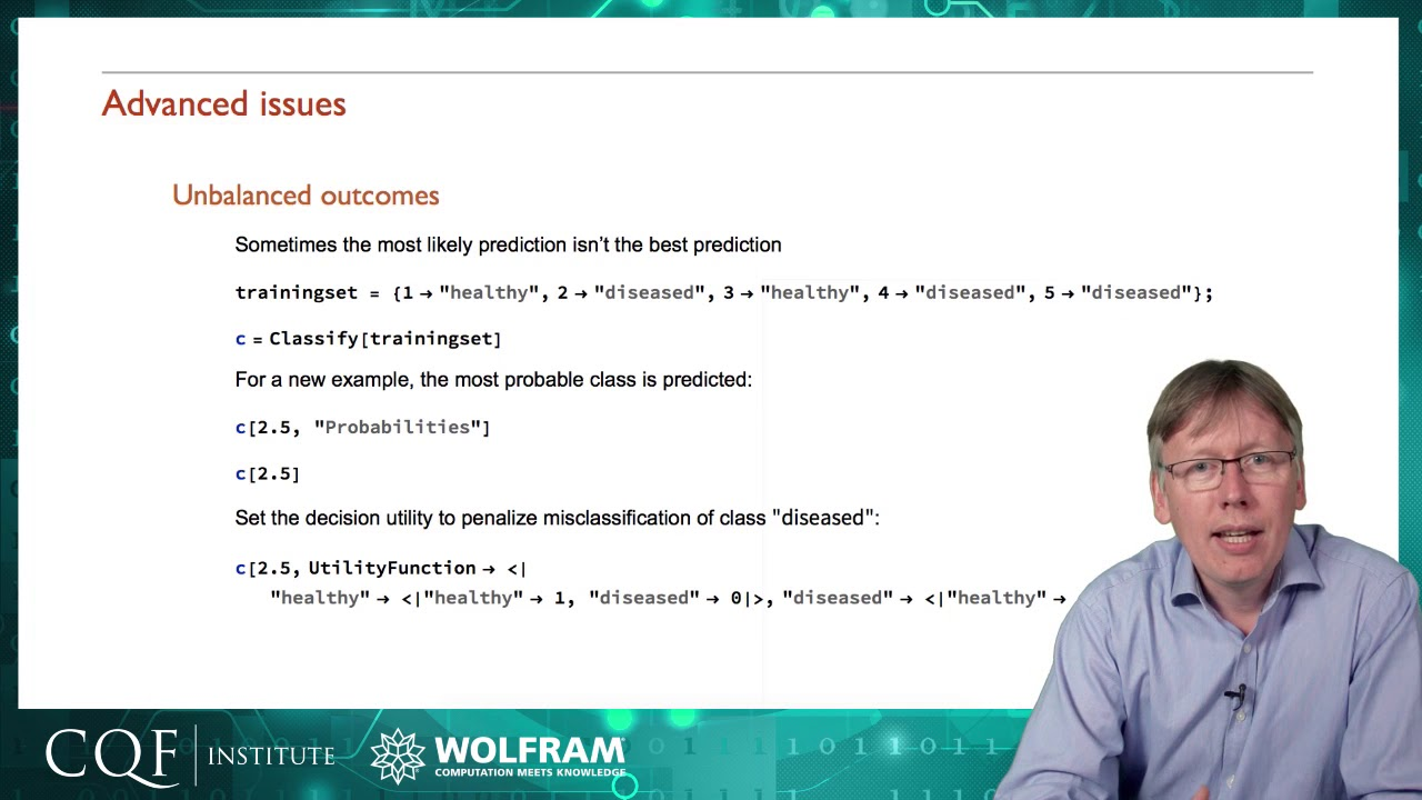 Machine Learning: Advanced Issues (Part 5 of 8)