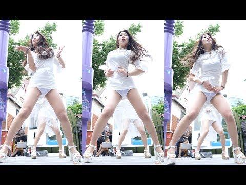 Touch My Body  씨스타  비글여친 수연 180521 신촌아리수 버스킹 chulwoo 직캠Fancam
