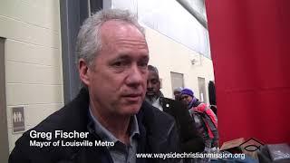 Mayor visits LBS at WCM