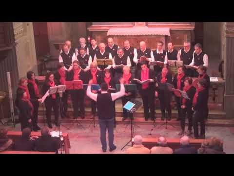 Coro Tre Ponti - Dio ci benedirà - concerto di Natale Pisano 5 12 2015