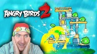 72-74 Уровень. Angry Birds 2 САМОЕ УДАЧНОЕ ПРОХОЖДЕНИЕ! THE SUCCESSFUL PASSAGE! Оf the LEVEL!