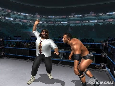 Wwe wrestlemania 21 xbox gameplay chris jericho vs christian.