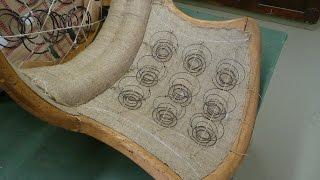 1870's Victorian Chair Restoration Part 5