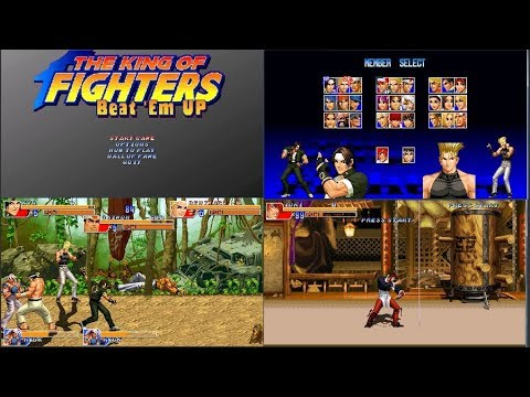 KOF Beat 'Em UP - Openbor Download | GO GO Free Games