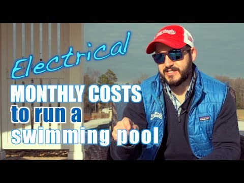 Monthly Electrical Costs To Run A Swimming Pool: What You Should Expect
