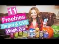 ★ 11 FREEBIES - Target & CVS Coupon DEALS (Week 2/5-2/11)