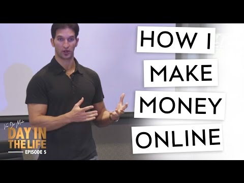 A Day In The Life Ep.5: Make Money Online With Fitness