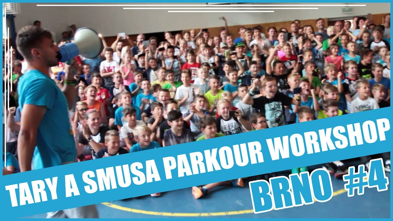 TARY A SMUSA PARKOUR WORKSHOP EP. 2 | BRNO #4