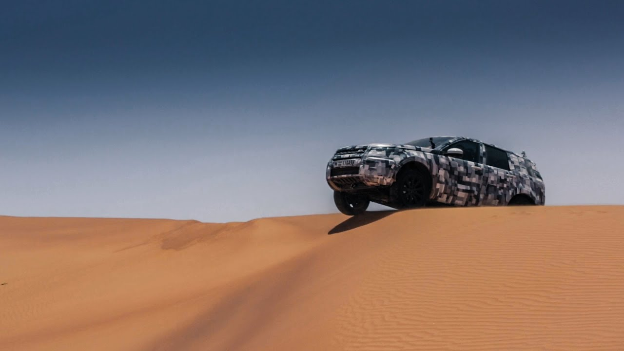 Land Rover Discovery Sport | Middle East Testing | Desert ...
