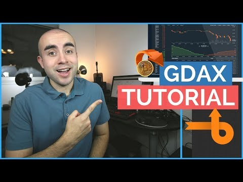 GDAX Tutorial: How To Use GDAX Exchange Fees With Coinbase!