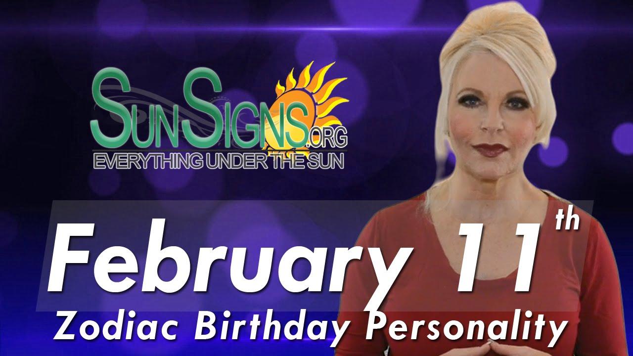 February 11 Birthday Horoscope