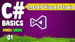 C# Tutorials in Hindi For Beginners (download And Install VisualStudio)