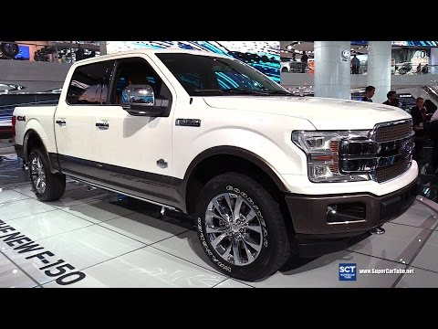 2018 Ford F-150 King Ranch - Exterior and Interior Walkaround - Debut at 2017 Detroit Auto Show