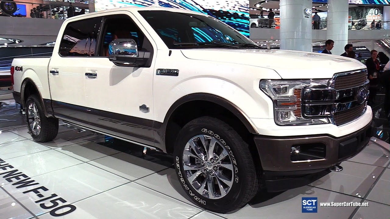 2018 ford f 150 king ranch exterior and interior walkaround debut at 2017 detroit auto show youtube