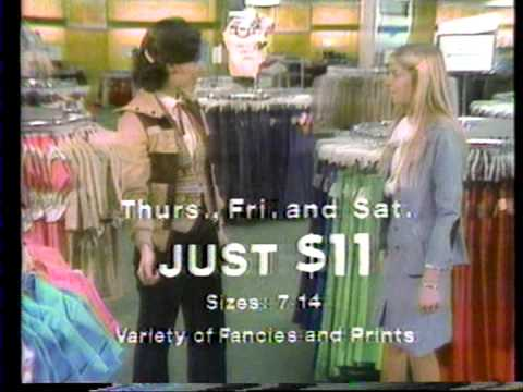 Mays department store commercial 1978