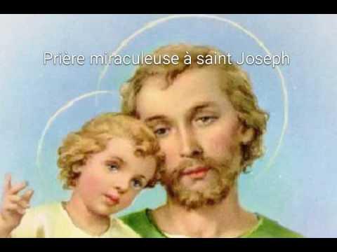 Prière miraculeuse à saint Joseph