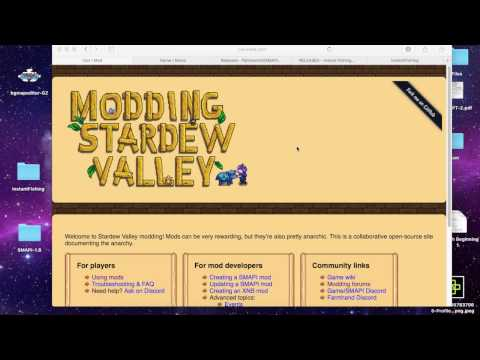 Stardew Valley Mod Tutorial/How To for Mac on Steam using SMAPI (Shorter version)