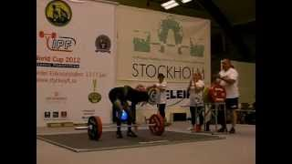 RAW deadlift 220,5 kg (@ 61 kg) Kimberly Walford IPF Classic Cup